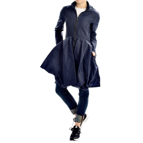 Zac Posen Heather Fit and Flare Coat (For Women)