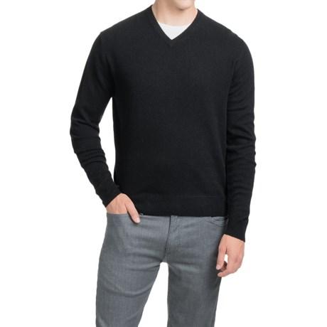 Oliver Perry Cashmere Sweater - V-Neck (For Men)