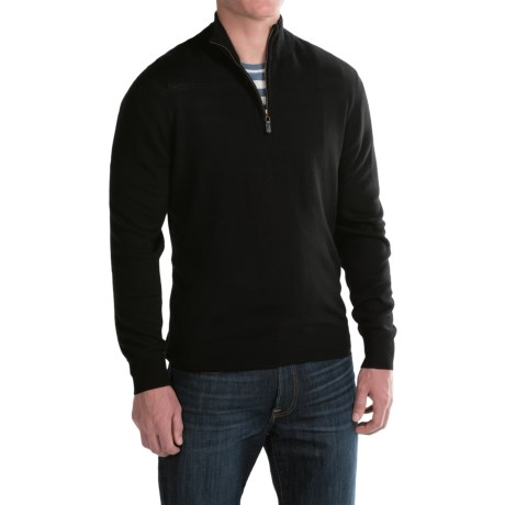 For The Republic Jersey-Knit Sweater - Merino Wool, Zip Neck (For Men)