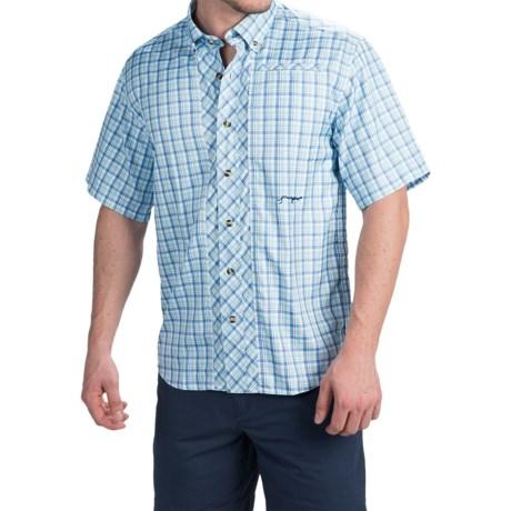 True Flies Bokeelia Tattersall Shirt - UPF 30, Short Sleeve (For Men)