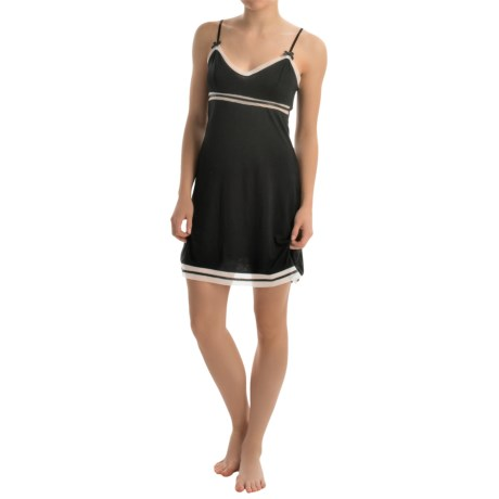 Marilyn Monroe Stretch Rayon Chemise - Mesh Trim (For Women)