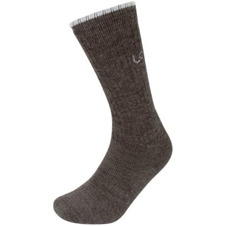 Lorpen T2 Work Socks - Merino Wool, Crew (For Men and Women)
