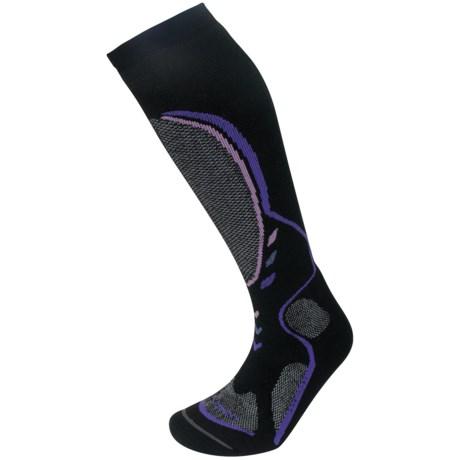 Lorpen T3 Midweight Ski Socks - PrimaLoft®-Merino Wool, Over the Calf (For Women)