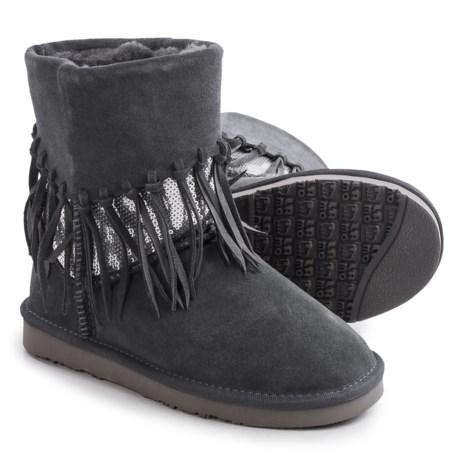 LAMO Footwear Alpine Fringed Boots - Suede (For Women)