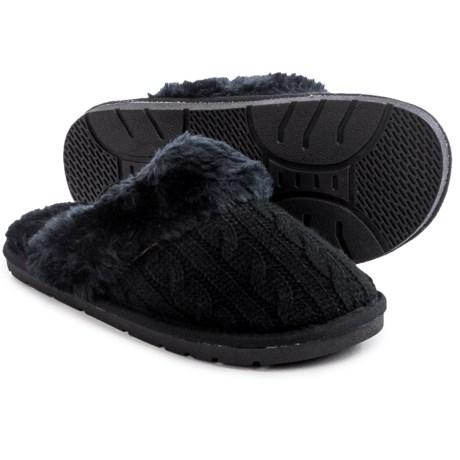 LAMO Footwear Knit Scuff Slippers (For Women)