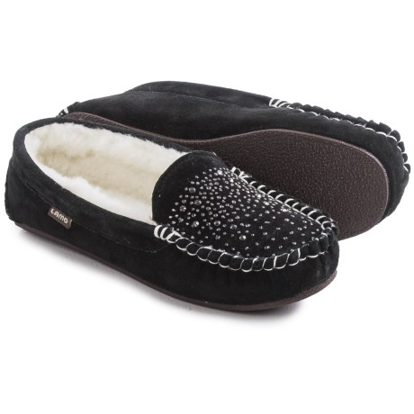 LAMO Footwear Twinkle Moccasins - Suede (For Women)