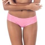 Skarlett Blue Trellis Mesh Panties - Briefs (For Women)