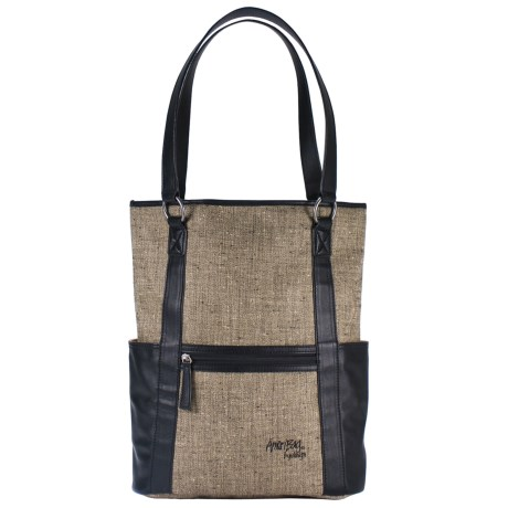 AmeriBag® Gabardine Shoulder Tote Bag