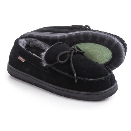 Dije California Moccasins - Suede, Sheepskin Lined (For Men)