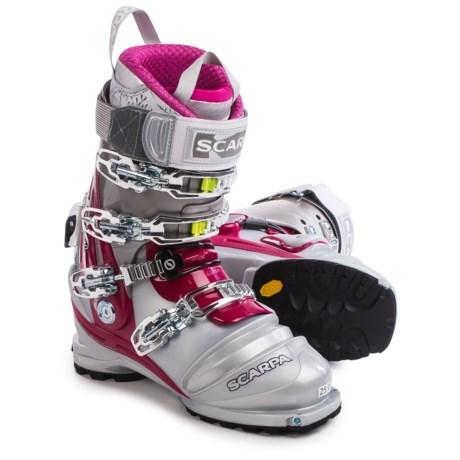 Scarpa Terminator X Pro Telemark Ski Boots (For Women)