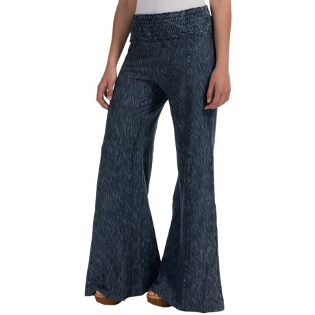 XCVI Carlitos Striped Pants - Wide Leg (For Women)