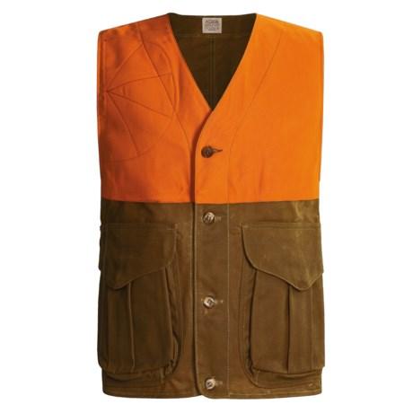 Filson Upland Hunting Vest - Tin Cloth (For Men)