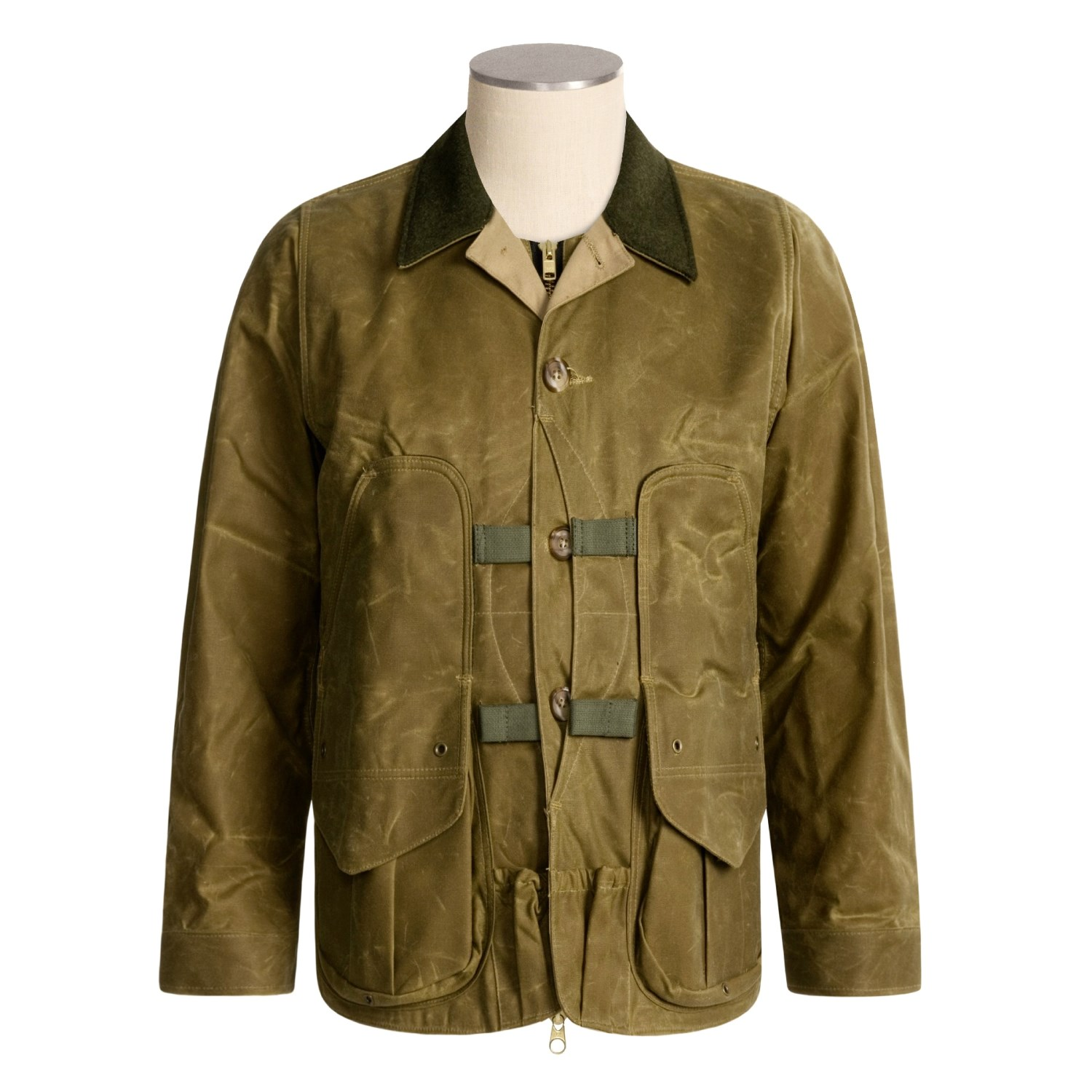 upland men Men's upland hunting jacket even a bad day out in the field with a hard-working dog is still a good day.