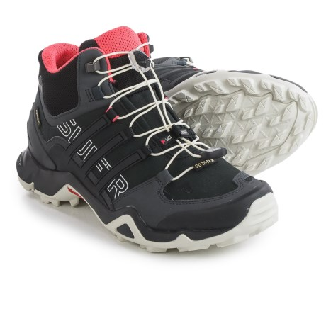 adidas outdoor Terrex Swift R Gore-Tex® Mid Hiking Shoes - Waterproof (For Women)