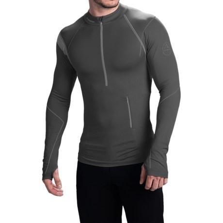 La Sportiva Atmosphere Base Layer Top - Zip Neck, Long Sleeve (For Men)