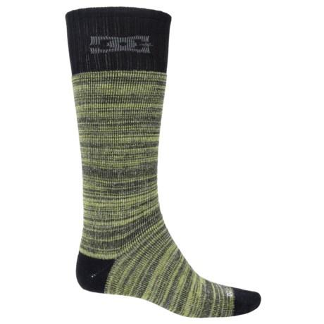 DC Shoes Random Knitting Ski Socks - Crew (For Men)
