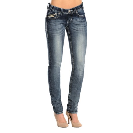 Rock & Roll Cowgirl Rival Skinny Jeans - Low Rise (For Women)