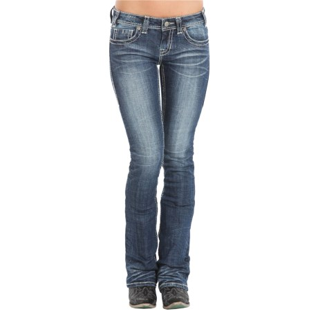 Rock & Roll Cowgirl Rival Bootcut Jeans - Low Rise (For Women)