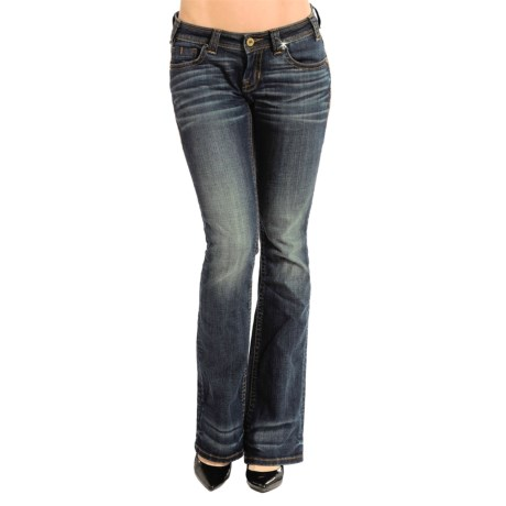 Rock & Roll Cowgirl Diamond Stitch Rival Jeans - Low Rise, Bootcut (For Women)