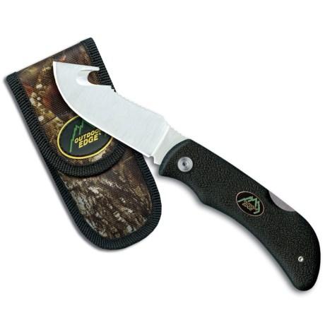 Outdoor Edge Grip Hook GH-40C Skinner Knife