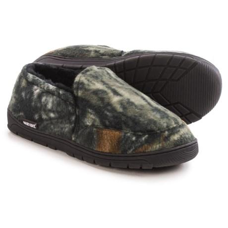 Muk Luks Camouflage Slippers - Fleece (For Men)