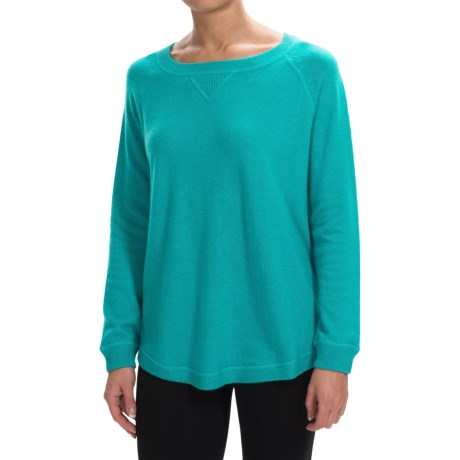 Forte Cashmere Oversized Cashmere Sweater (For Women)