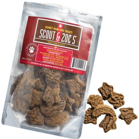 Scout and Zoe's Stars and Moons Ham Dog Treats - 6 oz.