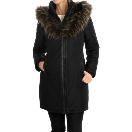 Noize Donna Parka - Zip Front, Insulated, Faux-Fur Hood Trim (For Women)