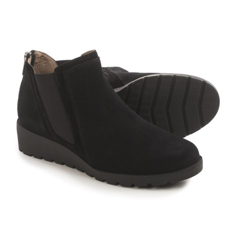 Adrienne Vittadini Tolo Chelsea Boots - Suede (For Women)
