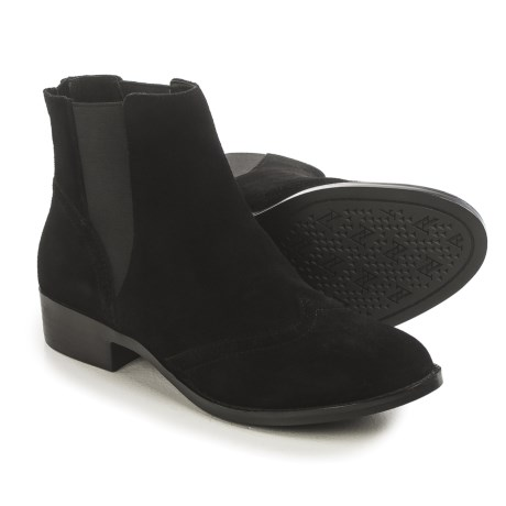 Adrienne Vittadini Bolte Chelsea Boots - Suede (For Women)