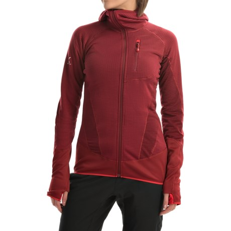 Berghaus Smoulder Polartec® Power Dry® Hooded Fleece Jacket - UPF 15+ (For Women)