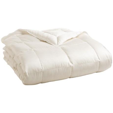 DownTown Willow Summer Comfort Down Comforter - 800 Fill Power, Super Queen