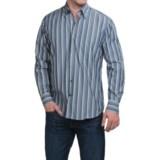 Robert Talbott Multi-Stripe Cotton Sport Shirt - Hidden Button-Down Collar, Long Sleeve (For Men)