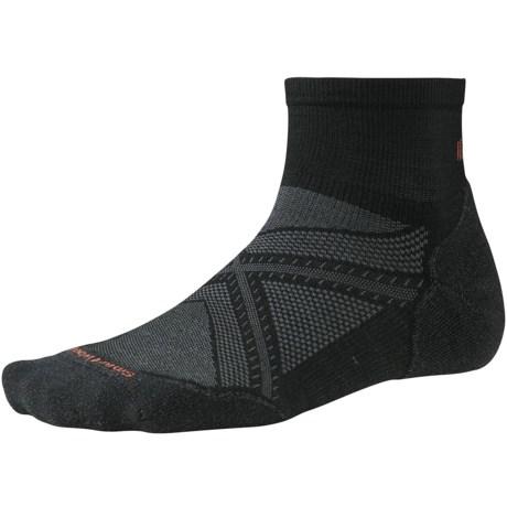 SmartWool PhD Run Light Elite Mini Socks - Merino Wool, Ankle (For Men and Women)