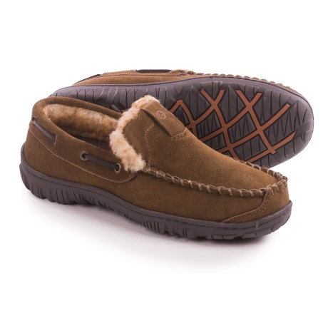 Clarks Suede Moccasins (For Men)