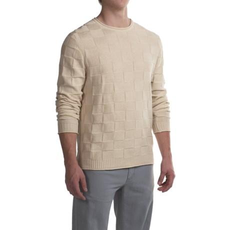 Robert Talbott Textured Cotton Sweater (For Men)
