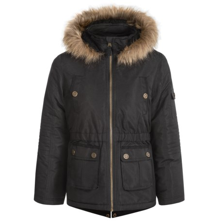 Pacific Trail Trail Faille Parka (For Big Girls)