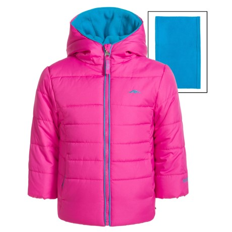 Pacific Trail Puffer Jacket with Neck Warmer (For Toddlers)