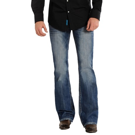 Rock & Roll Cowboy Pistol Bootcut Jeans (For Men)