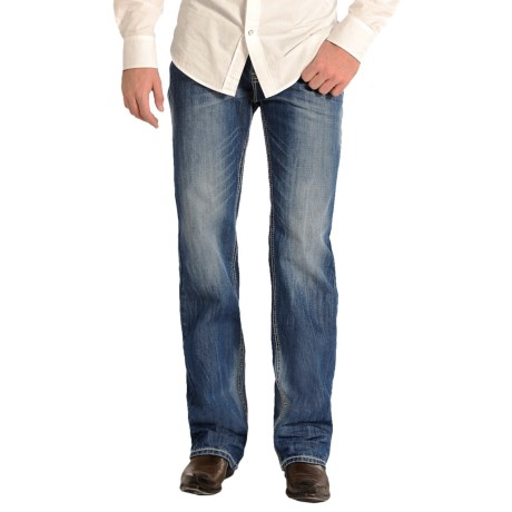 Rock & Roll Cowboy Double Barrel Jeans - Relaxed Fit, Straight Leg (For Men)