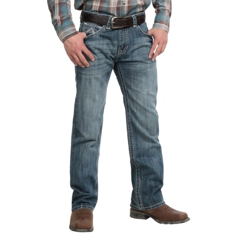 Rock & Roll Cowboy Abstract A Jeans - Straight Leg (For Men)