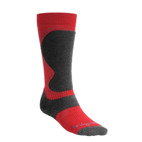 Bridgedale Ski Socks - Merino Wool, Over the Calf  (For Men)