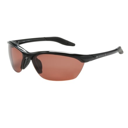 Native Eyewear Hardtop Sunglasses - Polarized, Extra Lenses in Iron/Copper - Closeouts