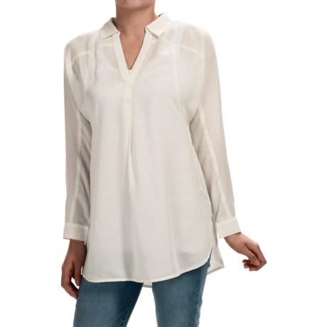 Nic + Zoe Drapey Tunic Shirt - Long Sleeve (For Women)