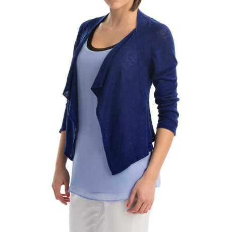 Nic + Zoe Nic+Zoe Driftings Cardigan - 3/4 Sleeve (For Women)