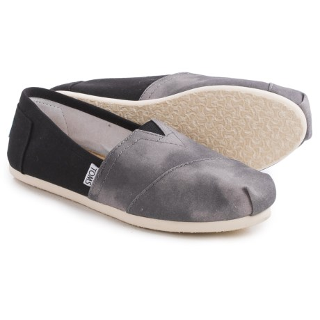 TOMS Washed Canvas Classic Espadrilles (For Women)