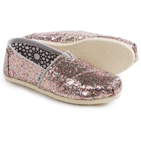 TOMS Classic Multi Glitter Espadrilles (For Women)