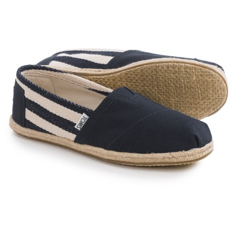 TOMS Classics University Shoes - Slip-Ons (For Women)