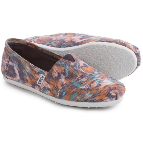 TOMS Canvas Ikat Shoes - Slip-Ons (For Women)