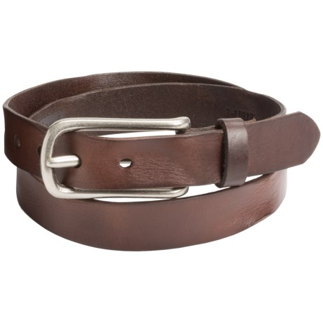 Leather Island by Bill Lavin Distressed Leather Belt (For Men)